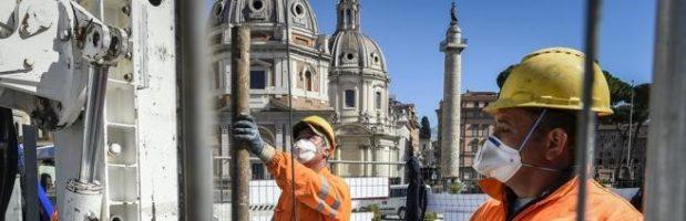 Coronavirus, operai edili a rischio «Da chiudere i cantieri insicuri»